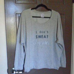 DENVER HAYES Women's Sweatshirt Top